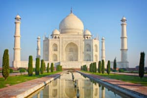Taj Mahal- Famous Tourist Attraction