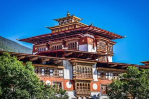 The palace of great happiness - Punakha Dzong, Bhutan