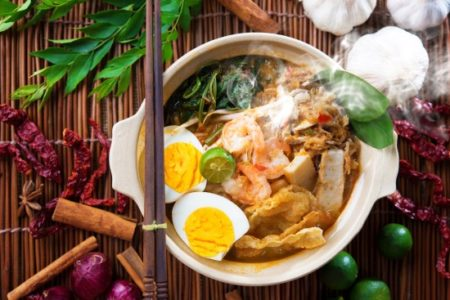 Malaysian Curry Noodle